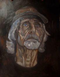 Mann, Portrait, Malerei