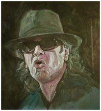 Musiker, Malerei, Portrait,