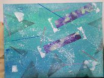 Gefühlswelten, Farben, Abstrakt, Malerei