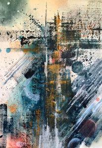 Farben, Modern, Malerei, Acrylmalerei