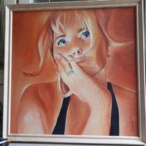 Ölmalerei, Portrait, Malerei
