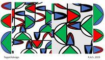 Konkrete kunst, Dreiecke, Halbkugel, Kegel