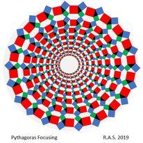 Zentrierung, Pythagoras, Meditation, Mandala