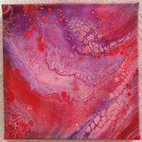 Farben, Abstrakt, Acrylmalerei, Pouring