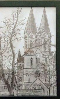 Hessen, Ringkirche, Zeichnungen