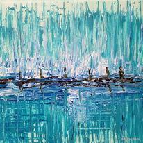 Meer, Welle, Spirituell, Malerei