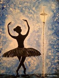 Tanz, Glaube, Hoffnung, Malerei