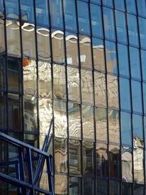 Glas, Reflexion, Fassade, Fotografie