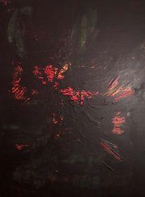 Feuer, Polarlicht, Kraft, Malerei