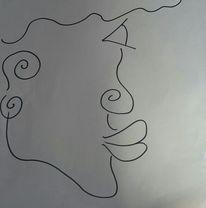 Profil, Lippen, Gesicht, Kopf