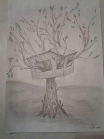 Skurril, Natur, Baum, Surreal