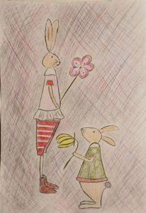 Ostern, Zeichnungen