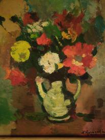 Blumen, Rose, Impressionismus, Malerei