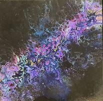 Lila, Violett, Rosa, Acrylfarben purple