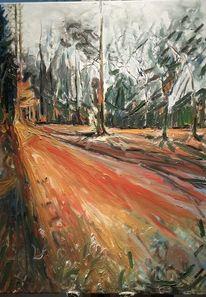 Landschaft, Impressionismus, Malerei