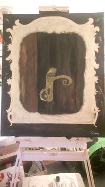 Acrylmalerei, Verborgen, Malerei