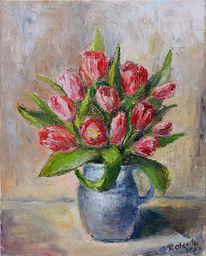 Tulpen, Blumen, Blumenstrauß, Rote blumen