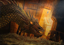 Smaug, Licht, Gold, Hobbit