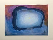 Abstrakt, Tunnel, Licht, Farben