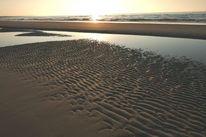 Strand, Horizont, Licht, Wasser