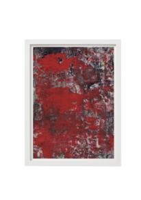 Zeitgenössisch, Weiß, Malerei abstrakt, Design