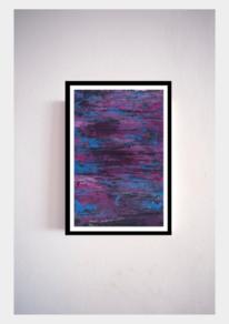 Malerei abstrakt, Schwarz, Ölmalerei, Weiß