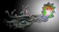 Farben, Psychedelisch, Fantasie, Soultravel