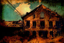 Ruine, Manipulierte fotografie, Experimentell, Lost place