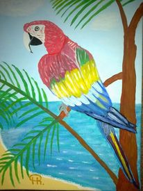 Fantasie, Tiere, Abstrakte malerei, Malerei