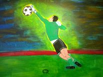 Menschen, Sport, Abstrakte malerei, Malerei