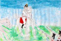 Kürassier, Jahrhundert, Pferde, Soldat