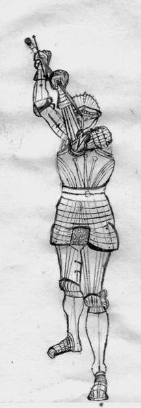 Schwert, Kampf, Ritter, Zeichnung