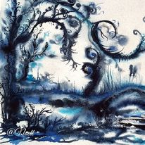 Blau, Traum, Natur, Landschaft