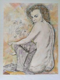 Menschen, Akt, Romy schneider, Portrait