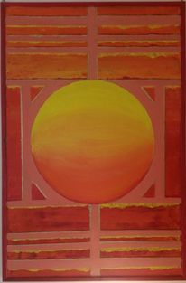 Symmetrie, Kugel, Rechteck, Malerei