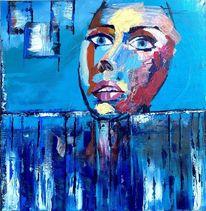Wasser, Atmen, Farben, Blau