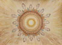 Perlen, Indigen, Mandala, Azteke