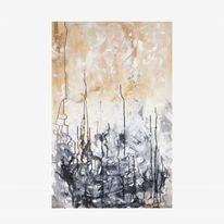 Acrylmalerei, Abstrakt, Ölmalerei, Mischtechnik