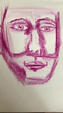 Abstrakt, Gesicht, Menschen, Portrait