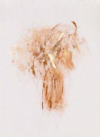 Abstrakte malerei, Abstrakte kunst, Zeichenpapier, Gefangene