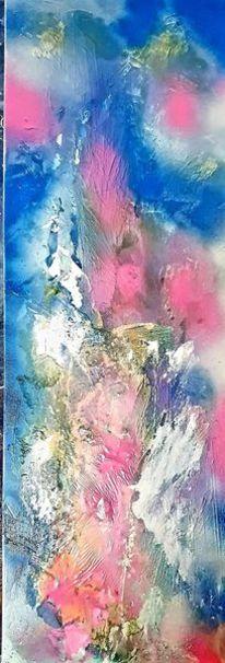 Abstrakt, Acrylmalerei, Bunt, Malerei
