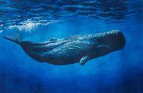 Wasser, Gouachemalerei, Wal, Malerei