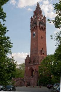 Backsteingotig, Grunewaldturm, Geographie, Berlin
