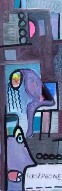Mythologie, Farben, Malerei