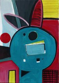 Abstrakt, Figur, Malerei, Farben
