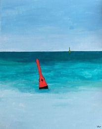 Meer, Acrylmalerei, Corona, Malerei