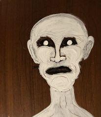Gesicht, Manson, Absurd, Malerei