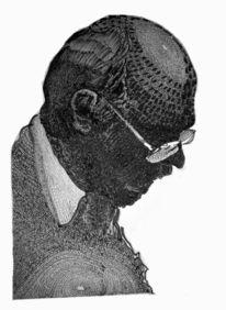 Kopf, Brille, Schwarzweiß, Portrait