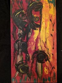 Feuer, Wesen, Untergang, Malerei