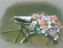 Frieden, Blumen, Kurier, Stillleben